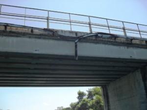 Il ponte sulla Sp41 a Carlantino