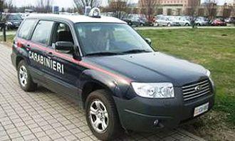 Carabinieri, Alba