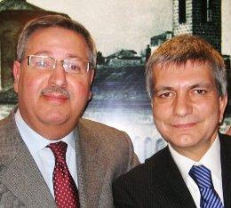 Michele Losappio con Vendola (St)