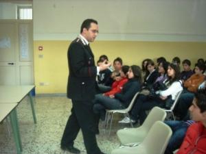 Incontri carabinieri con scuole (archivio, milocca.wp)