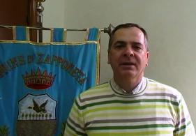 Il sindaco di Zapponeta F.Daluisio (St)