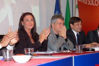 A.Nuzziello, N.Vendola, D.Stefàno (St)