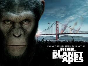 L'alba del Pianeta delle scimmie - Locandina