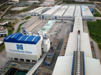 Manfredonia Vetro, Sangalli Group, aerea (ST da IDM)