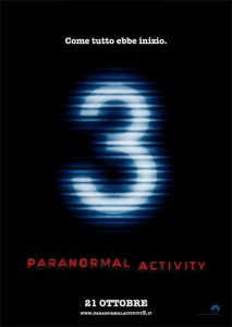 Paranormal Activity 3 - Locandina