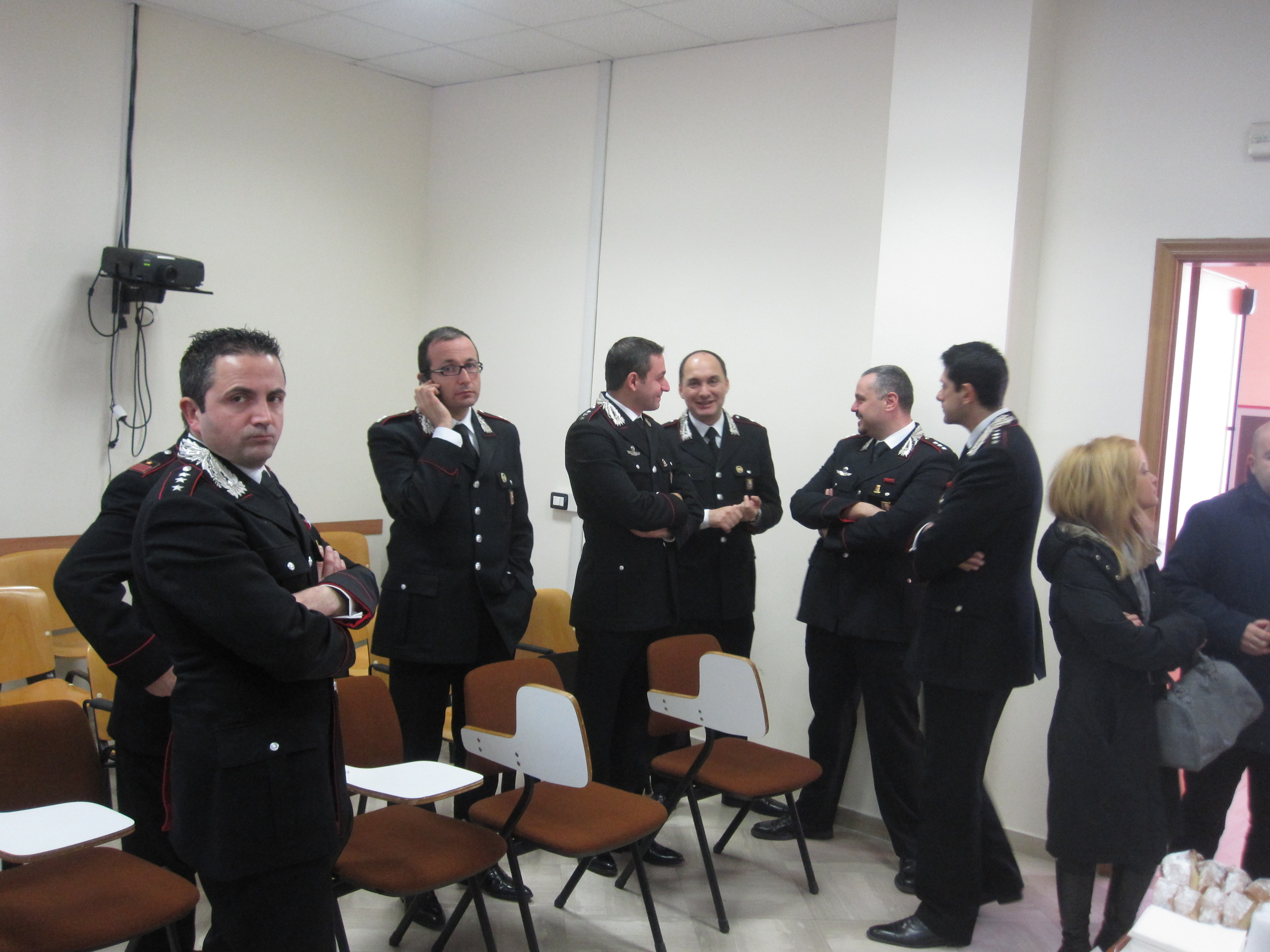 Bilancio 2011 Cc Foggia, rischio rapine e omicidi. In calo ...