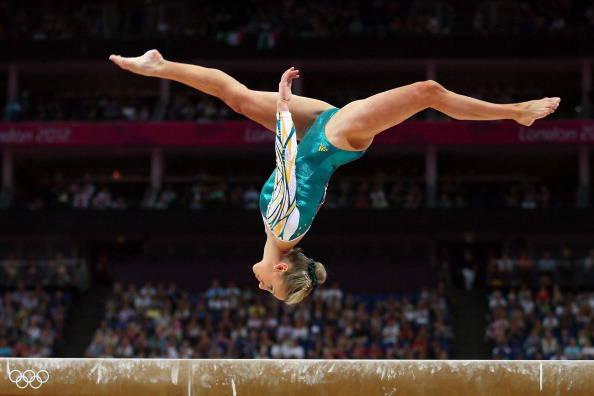 Hilary la ginnasta la speranza della ginnastica ritmica