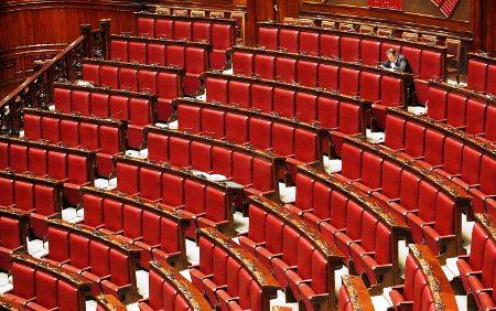 Parlamento vuoto (statoquotidiano - ps@)