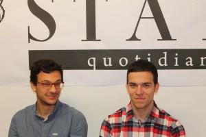 Marco e Andrea Nasuto, fratelli originari di Manfredonia (ph Statoquotidiano) - 20.04.2014