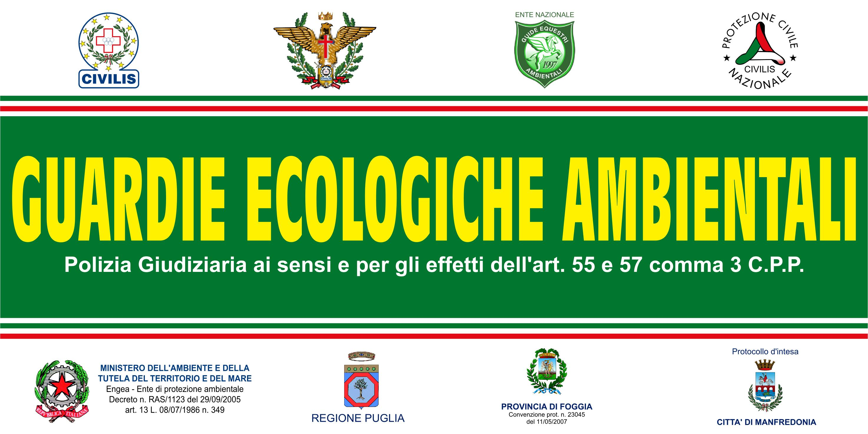 guardie ecologiche ambientali
