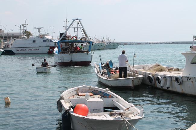 Pescatori di Manfredonia (ph: archivio, statoquotidiano)