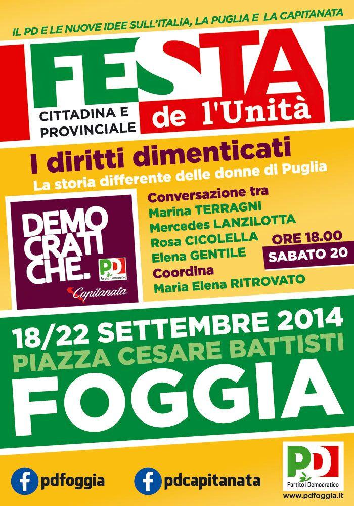 Conferenza Donne - Festa prov. 2014