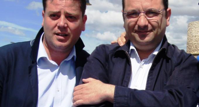 L'assessore S.Zingariello - il sindaco Angelo Riccardi (ph: Benedetto Monaco)