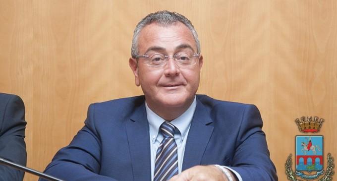 L'assessore comunale al bilancio Pasquale Rinaldi (ph: Saverio De Nittis - Comune di Manfredonia)