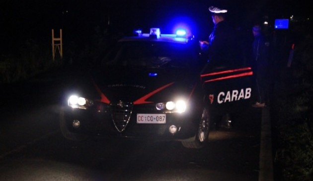 Carabinieri, furti auto Manfredonia