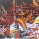 1985-Stadio Heysel- Gli assatanati tifosi inglesi del Liverpool