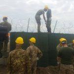 Lavori sulla recinzione