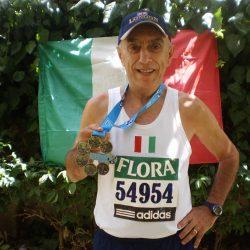 Maratone, riconoscimento per Felice Infante