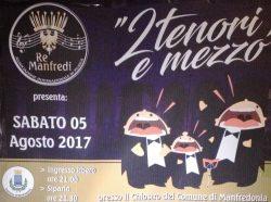 """Manfredonia, """"L'associazione musicale Re Manfredi e la lirica dei Due Tenori e Mezzo"""""""