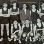 Anni '60- La squadra di Pallovolo del Liceo Scientifico