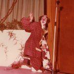 Carnevale 1974-Franco Rinaldi al Veglioncino-Foto di Lino Losciale