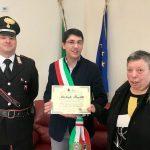 Giornata della Memoria a Monte Sant'Angelo_consegna pergamena