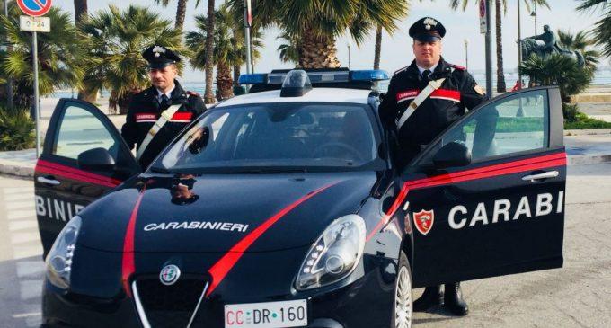Carabinieri Manfredonia (ph StatoQuotidiano)