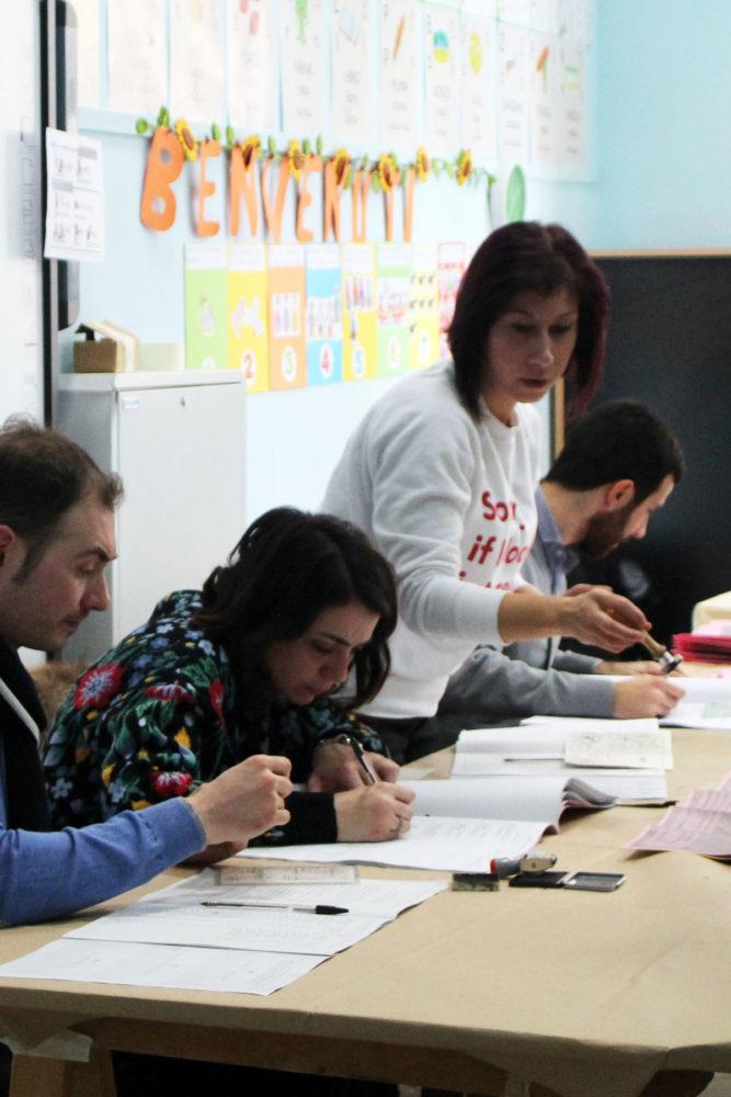 Foggia uninominale camera testa a testa di donna fi for Votazioni alla camera