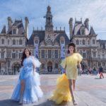 Paris Fashion Shooting - Nadia Stella_Roberta Molinini -Top Fashion Model