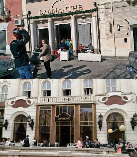 CAFFE' BRAMANTHE e il GERBEADU A MONACO DI BAVIERA