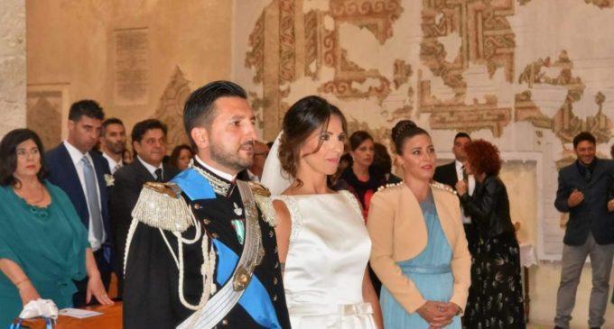 IN PRIMO PIANO IL CAP. ANDREA MIGGIANO E LA MOGLIE DANIELA (PH MATTEO NUZZIELLO)