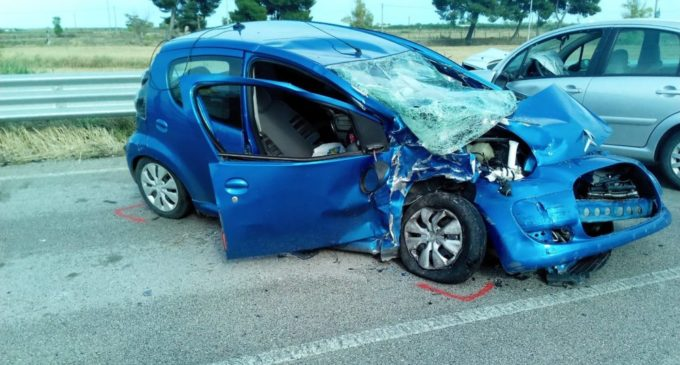 MANFREDONIA, INCIDENTE STRADALE 22.06.2018