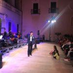 Un momento della serata. Foggia, 27 agosto 2018. Ph Paola Lucino
