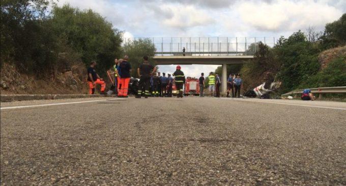 Incidente nel tratto che collega il santuario San Nazario ad Apricena (Foggia) - ph Enzo Maizzi