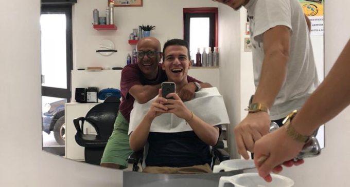 Marco Nasuto con Antonio e Francesco (SQ)