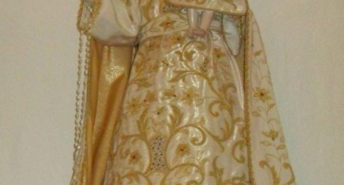 Madonna Cristo Restaurata Sola