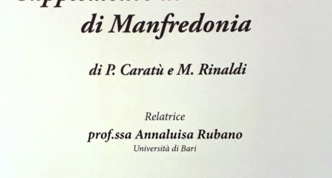 locandina present suppl vocab manfredonia