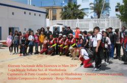 """Manfredonia. Successo per la """"Giornata Nazionale della Sicurezza in Mare 2019"""""""