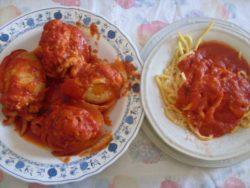 La seppia nella cucina a Manfredonia