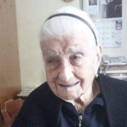 Morta a 116 anni nel foggiano Maria Giuseppa Robucci