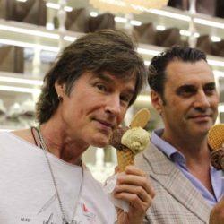 Bruneleski e Bramanthe Manfredonia, 130 gusti di gelato per Ronn Moss (FOTO VIDEO)