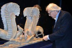 Sgarbi al Polo Museale di Ascoli (immagine in allegato al testo)